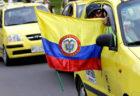 黄色タクシーはコロンビアのシンボル