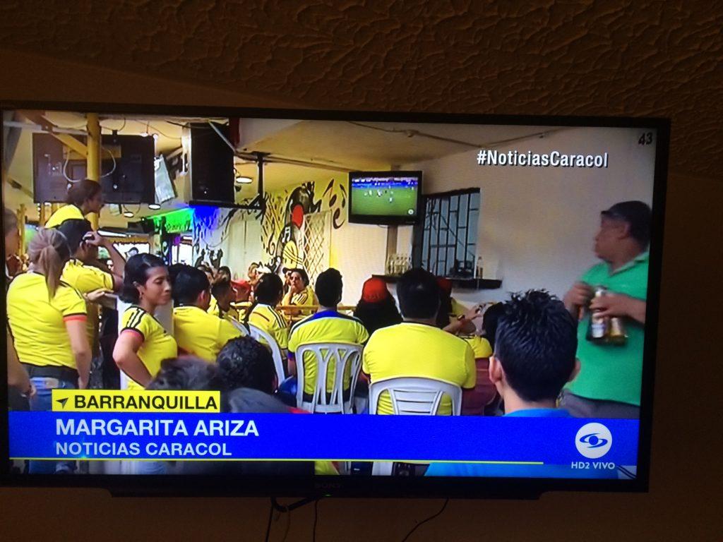 コロンビア人全員がサッカーを好きなわけではない!でも、サッカーは絶大な人気