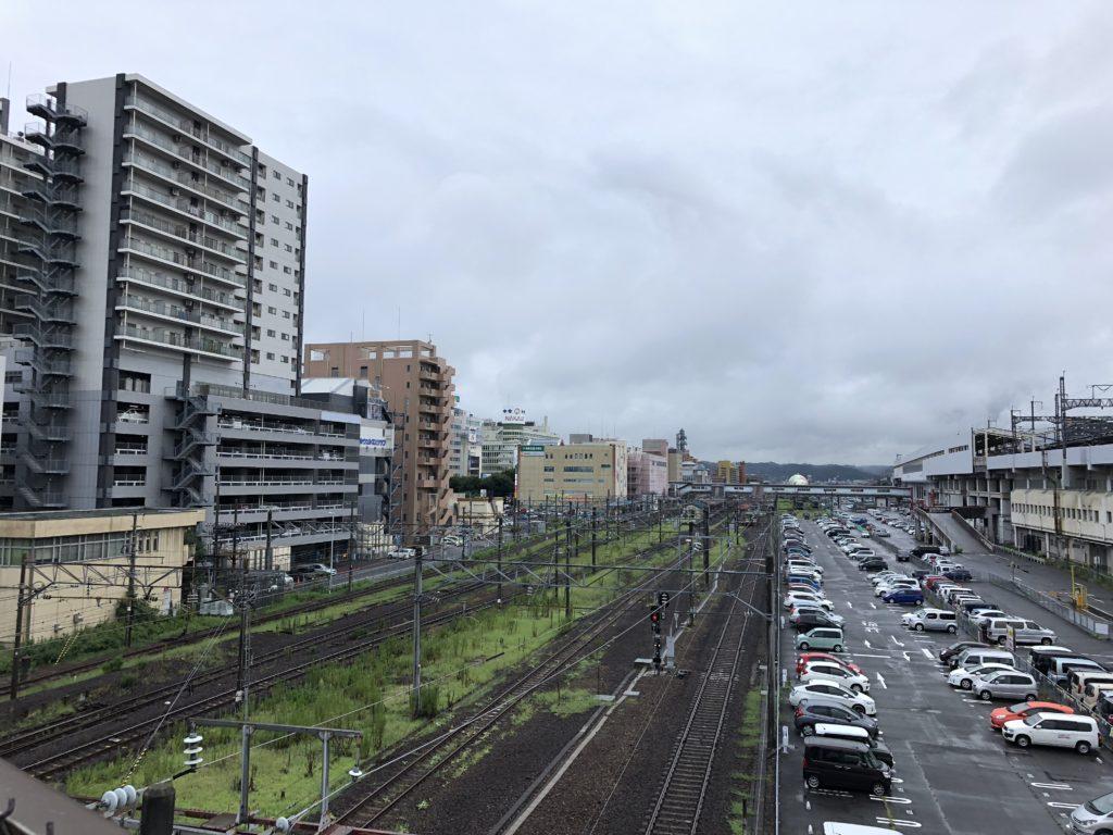 【うつくしま福島】駅を中心にひとの行き来があると、活気を感じるね!!